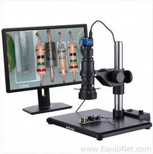 Microscópio AM Scope 0.7X-5.0X zoom objective
