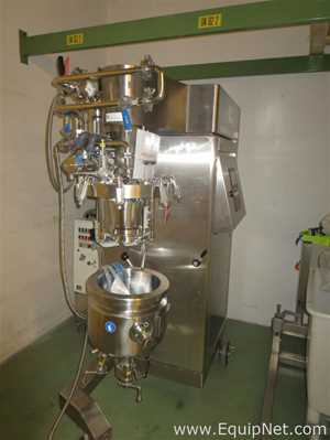Fryma Koruma Model VME 12C 316L Mobile Stainless Steel Vacuum Processing Unit