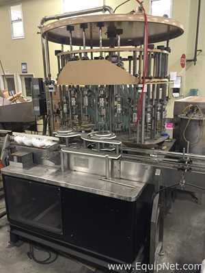 US Bottlers Machinery Company GC 24 Filler