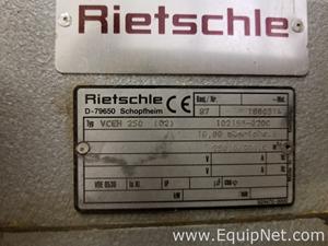 Rietschle Thomas vceh 250 Vacuum Pump