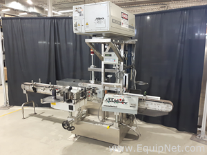 Avery ALS 350 Front and Back Labeler with Lumonics Laser Coder