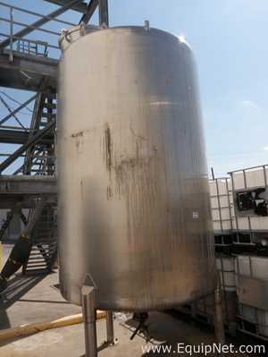 Mueller 2000 Gallon Stainless Steel Tank