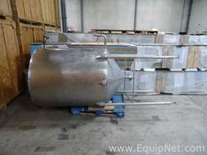 Stainless Steel 500 Gallon Single Wall Holding Tank