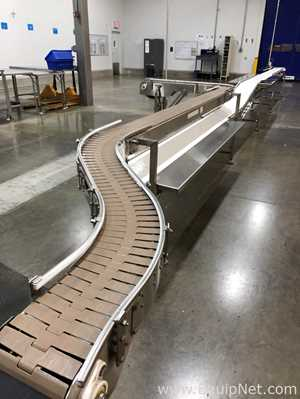 Best Fabrication Approx 35 Foot Of Food Grade Packing Conveyor Sections