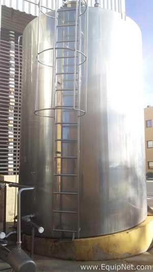 Recinox 27000 Liter Stainless Steel Vertical Storage Tank