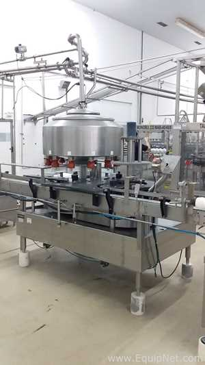 Fogg Liquid Filling Line for 450ml and 1000ml PET Bottles