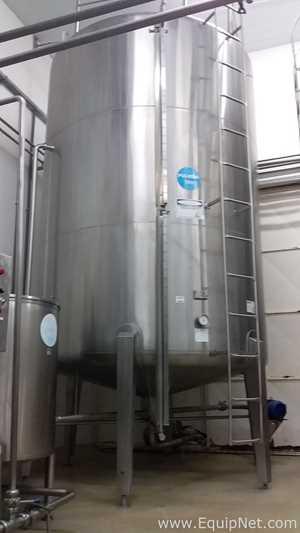 Zegla RZ/TM20 20000 Liters Stainless Steel Vertical Storage Tank