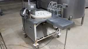Filling Line for Spray Candy PET Flasks of 25mm Diameter
