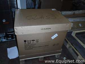 Box Containing Various Size Glassware