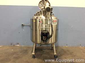 Precision Stainless 750 Liter 316L Stainless Steel Jacketed Mix Tank