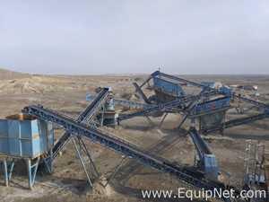 SANDVIK 240 T/H Stone Crushing Plant