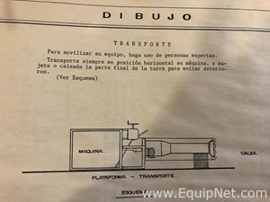 FORMAS MOLDES Y MAQUINARIAS S.A. DM-45 Maquina para Fabricacion de Tuberia