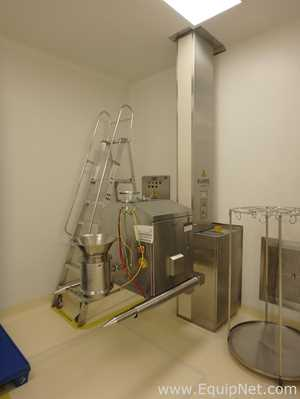 Frewitt TC-227 Stainless Steel Mill installed in Limitec Stainless Steel Lift