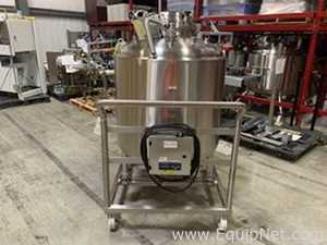 T and C Stainless 600 Liter Stainless Steel Mobile Tank