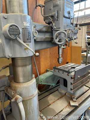 CINCINNATI BICKFORD Radial Arm Drill Press  Forward Reverse Quick Change for Tapping and Drilling