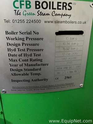 CFB Industrial steam boiler