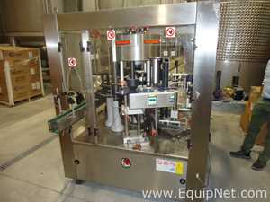 Newtec Leopard Adhesive 480 F4 S3 E3 3 Station Rotary Labeler