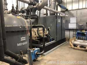 Atlas Copco ZR6-61 Two Stage Oil-Free Air Compressor Regeared to ZR6-63 Specs