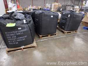 Four Thousand - Four Hundred Pounds of Coconut Activated Carbon Filter Media Material