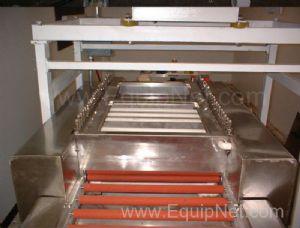 American Glass Machinery ZYX500A Horizontal 20 Inch Glass Washing Machine