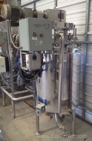 Lee 100U9MS 100 Gallon Double Motion Jacketed Mixing Kettle