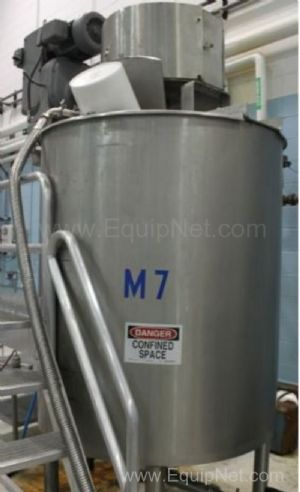 Lee 500U13S 500 Gallon Double Motion Jacketed Mixing Kettle
