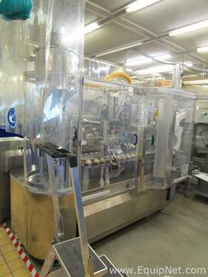 Marchesini MI 200 IntubettaTrice Automatic Twin Channel Tube Filling and Closing Machine