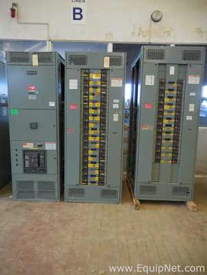 Schneider Electric Electrical Distribution Cabinet for Low Voltage | 3 Sections