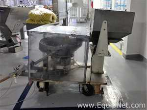 Vibromatic Vibratory Cap Feeder Bowl