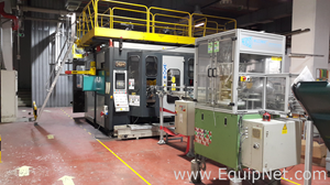Techne 10000 Twin Blow Molder Extrusion