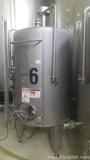 Ziemann Liess 2000 Liters Stainless Steel Tank