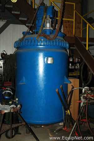 Pfaudler RA500 500 Gallon Glass Lined Reactor