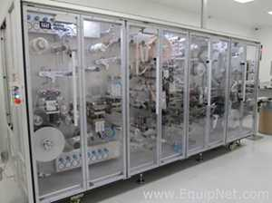 Harro Hoffliger PML 100 Transdermal Patch Pouching Machine