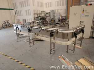 Stainless Steel Curve Conveyor With Motor