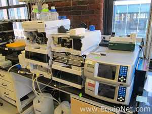 Agilent 1260/1290 Series HPLC System with DAD and Wyatt MALS and RID Detectors