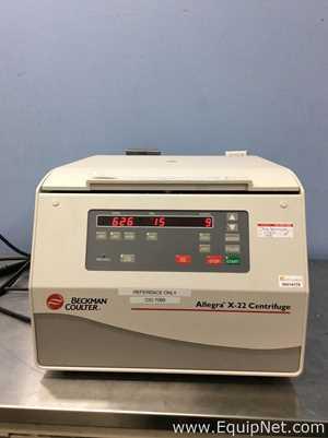 Centrífuga para laboratorio Beckman Coulter Allegra X-22