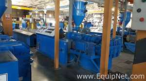 Theysohn Extrusionstechnik GmbH PAR 88 Extrusion Line and Plastic Downstream Equipment