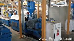 theysohn PAR 88 Extrusion Line and Plastic Downstream Equipment