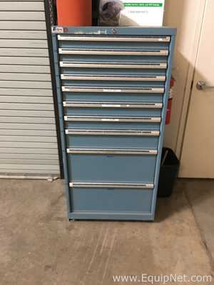 Lot of 2 Lista Tool Chest with Content