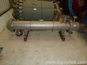 Unused Graham Hart Process BEM Shell and Tube 316L Stainless Steel Horizontal Heat Exchanger