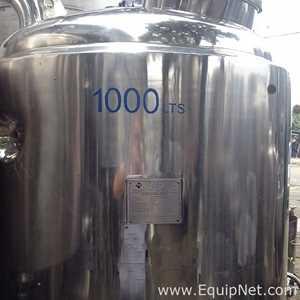Tanque Acero inoxidable Búfalo inox  Aço inox 316 Ti sanitário