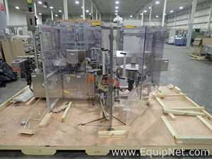 NJM CLI Packaging Systems International 130 Bronco Labeler with barcode reader