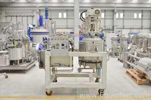 Nutsche Rosenmund COGEIM 120 Stainless Steel 316L Pilot 120 Liter Filter Drier