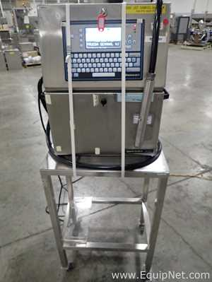 VideoJet 43s Inkjet Printer with Stainless Steel Stand