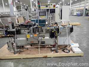 Accraply 35W Wraparound Labeler with Enercon Induction Sealer