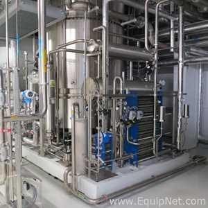 Sistema de Purificação e Destilação de Água Stilmas SPA Thermopharma BD 6000. Sem Uso