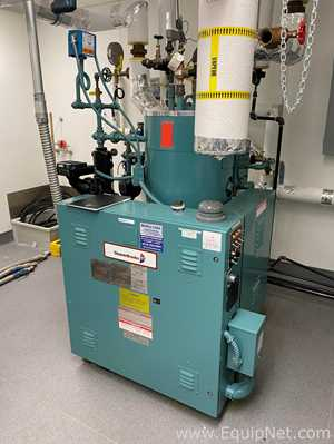 Cleaver Brooks CR 162 117 150ST Vertical Steam Boiler With Condensate Return Tank And Pump