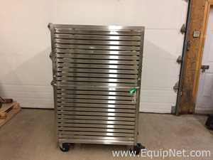 All Stainless mobile drying rack