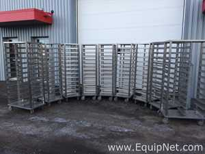 Hatch stainless steel mobile drying racks
