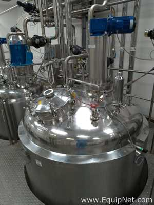 Bionaz Stainless Steel 4000 Liter Jacketed Tank